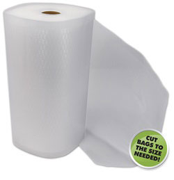 Commercial Grade Vacuum Bags - 11 in x 50 ft roll