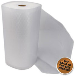 Commercial Grade Vacuum Bags - 8 in x 50 ft roll